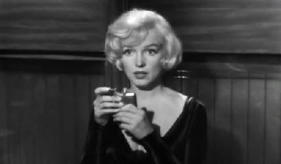 Sugar Kane and her flask