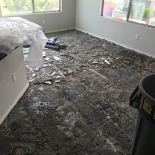 dustless tile removal phoenix dust free