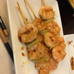 Second round of shrimp