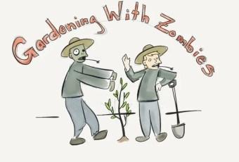 Dustin Bajer, Morticulture, Gardening in the Zombie Apocalypse, 001, Gardenin with Zombies