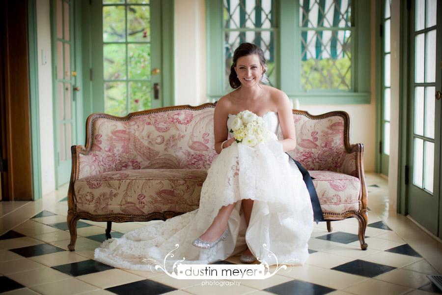 bridal portrait austin texas wedding photography