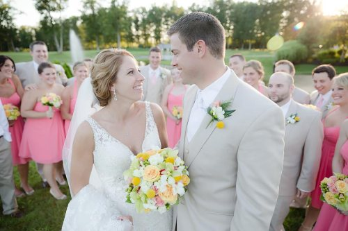 first look photos, wedding day, bride and groom, portraits, photography