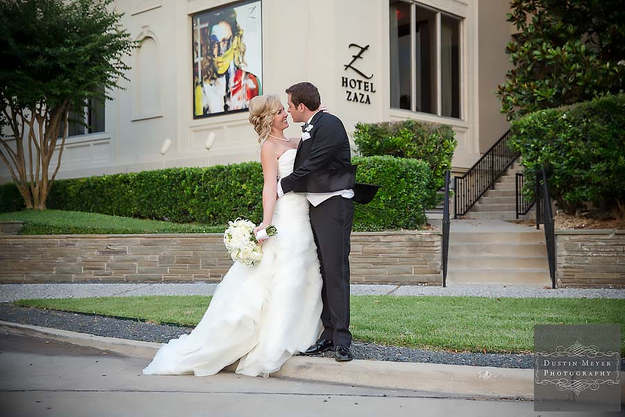 hotel zaza houston wedding reception photo
