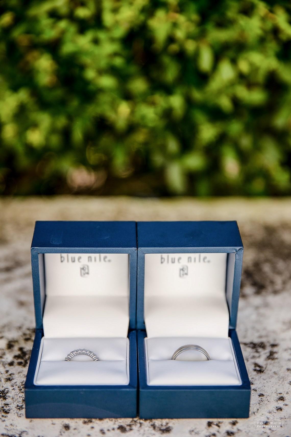 blue nile platinum wedding rings