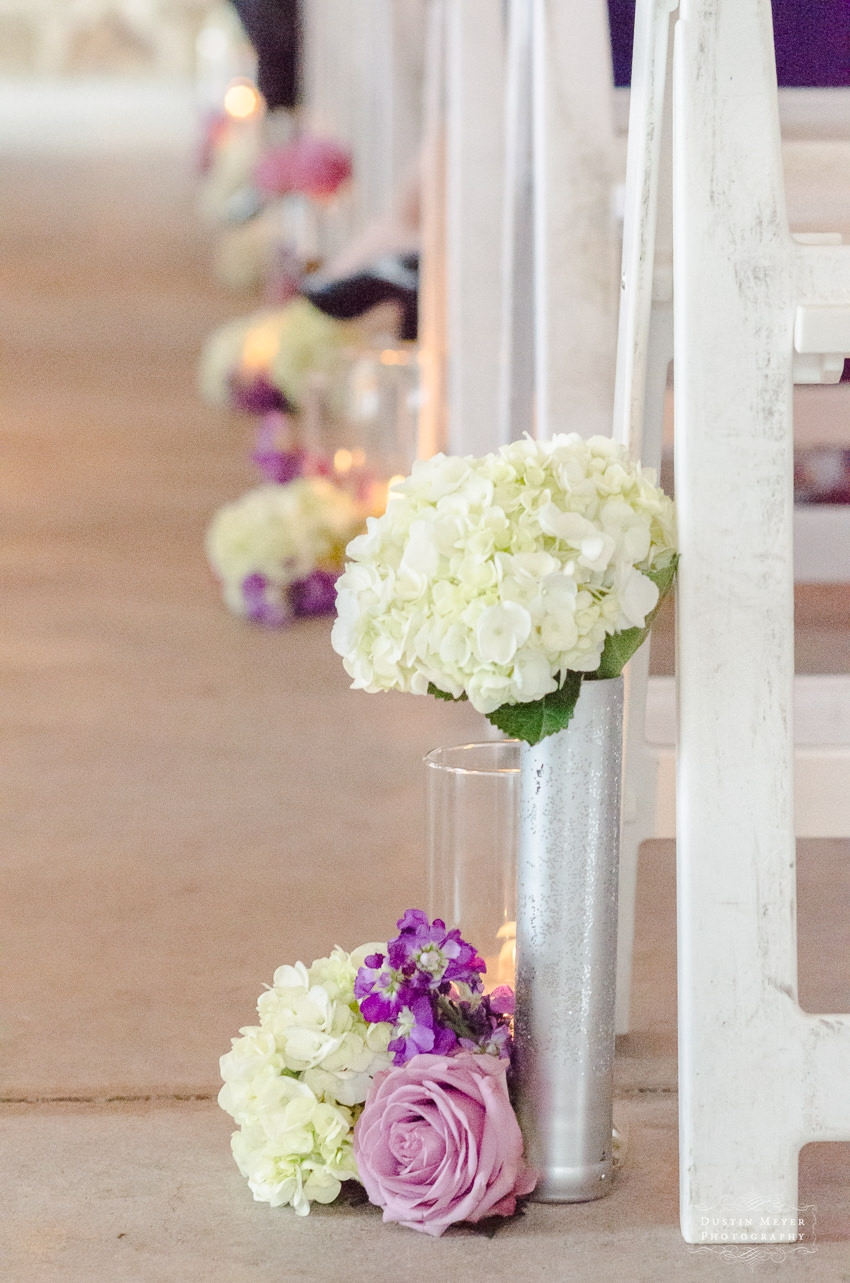 Hyatt Lost Pines Wedding ceremony flowers bridal floral ideas