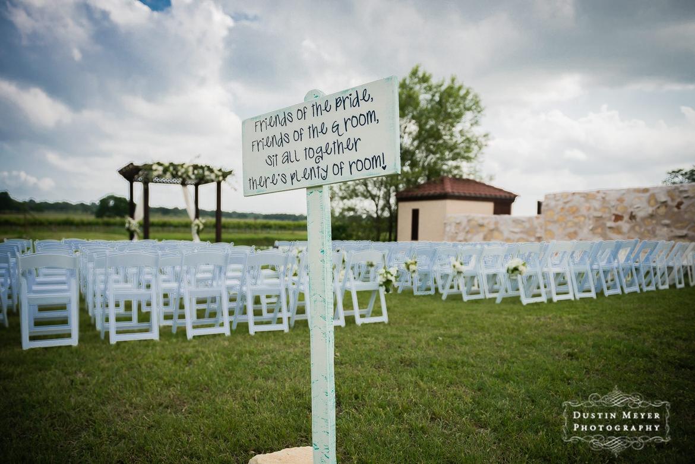 The Vineyard at Florence Wedding,