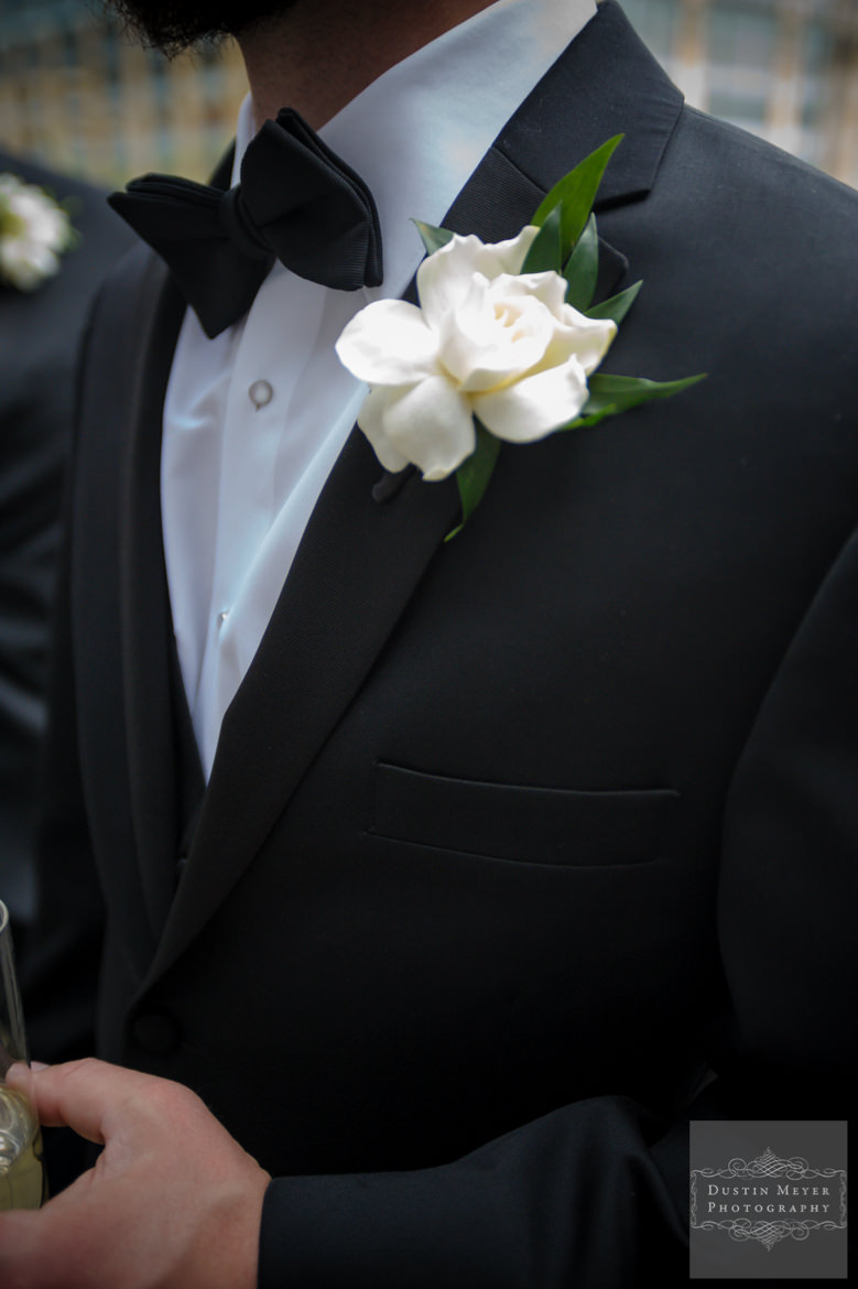 Groom's boutonniere | Austin Wedding Photographers