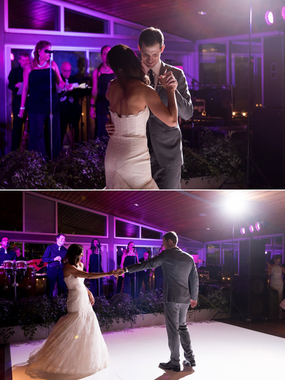 bride and groom, first dance, the grove, Houston Wedding Photographers