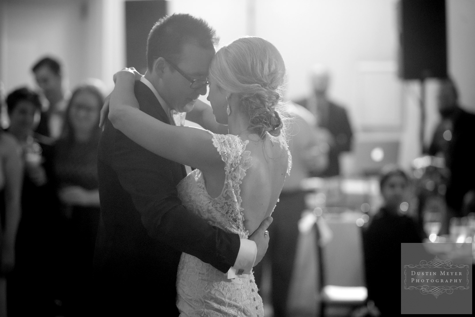 four seasons wedding, first dance wedding bride and groom