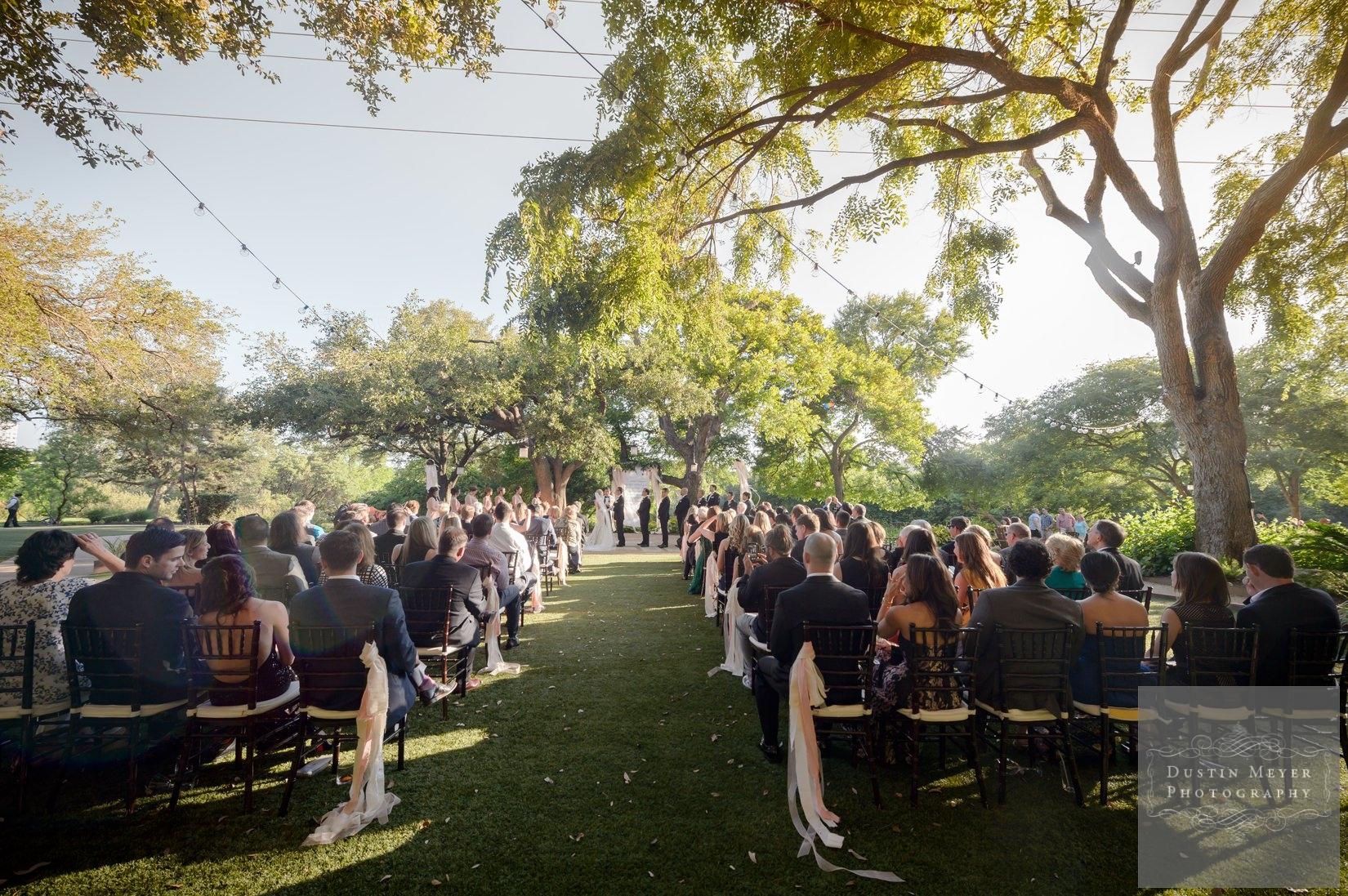 four seasons wedding, outdoor wedding ceremony