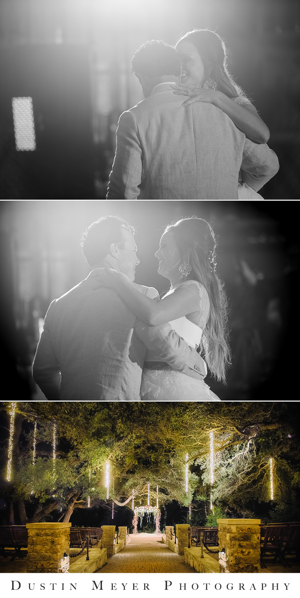 black and white wedding photos, wedding reception, bride and groom, first dance, camp lucy, sacred oaks, wedding ceremony,
