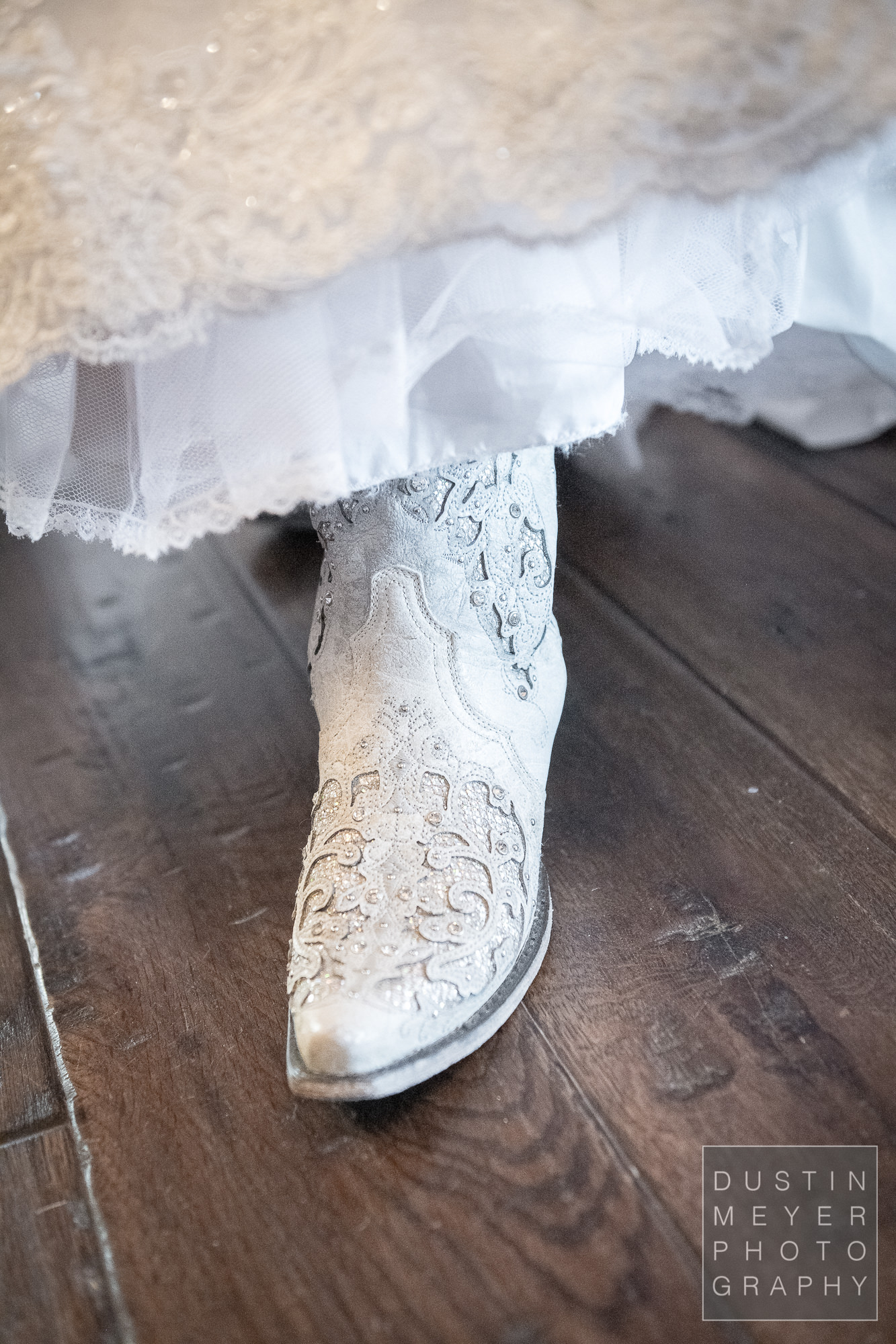 Beautifully unique custom handmade wedding boots for the bride