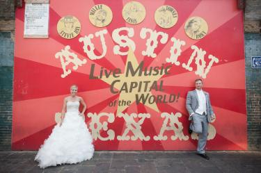 Sixth Street Austin Texas Wedding Photos Portraits Photography