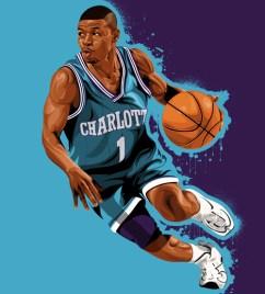 Mugsy Bogues: Charlotte Hornets