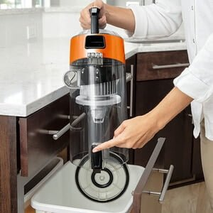 CleanView Bagless 1831 BISSELL Vacuum Cleaner Empty Dirt Bin