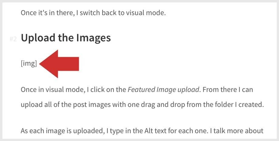 Example of image placeholder text