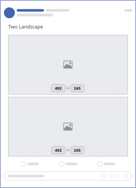 facebook two landscape upload mockup