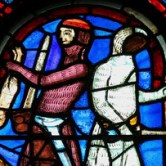 Stained glass at Amiens Cathedral