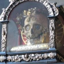 skull of Saint Mendita
