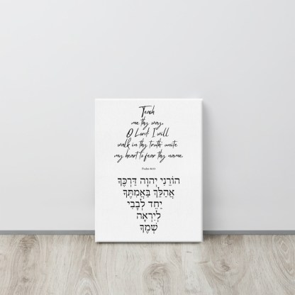 Psalm 86:11 canvas-in-12x16-front-603075a83c42a.jpg