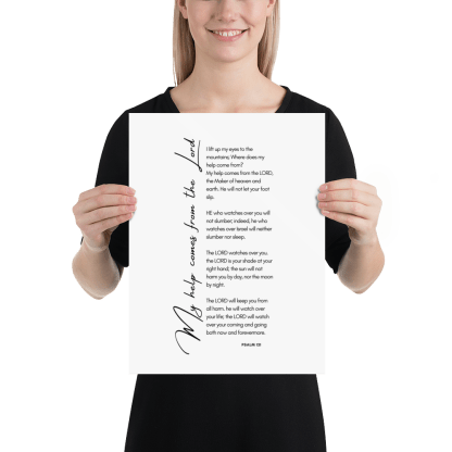 Psalm 121 enhanced-matte-paper-poster-(in)-12x16-person-603131b38bb13