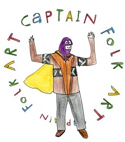 captain folk art