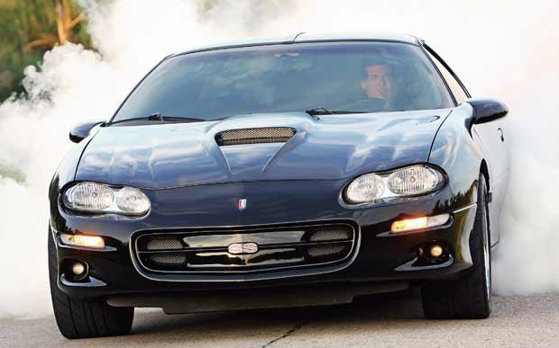 Chevy LS Burnout