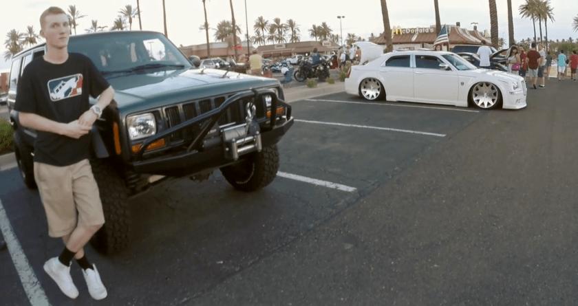 Car show xj cherokee