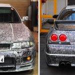 """Lost Birds"" R33 GTR, The Original ""Sharpie Car"""