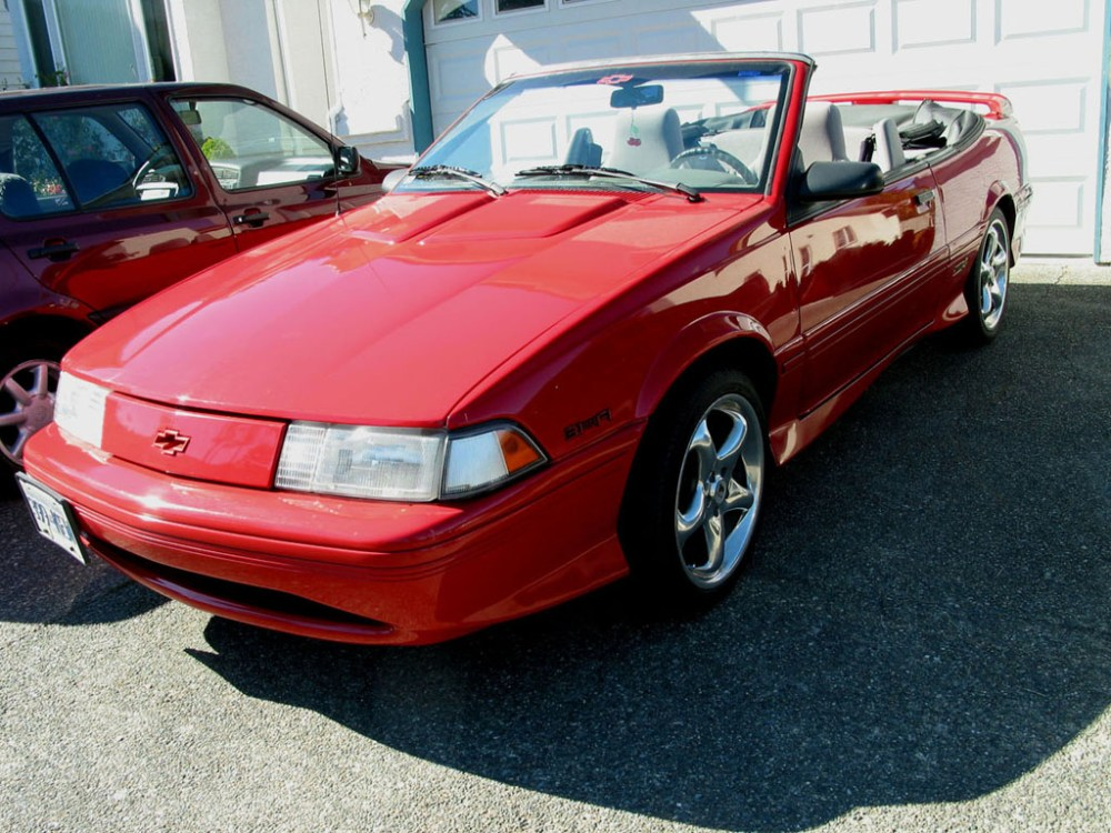 medium resolution of 1993 chevrolet cavalier z24 in red