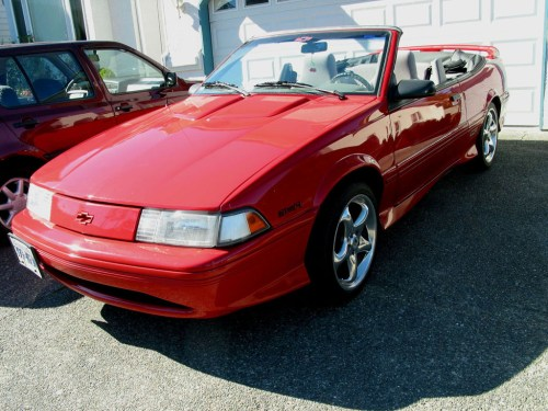 small resolution of 1993 chevrolet cavalier z24 in red