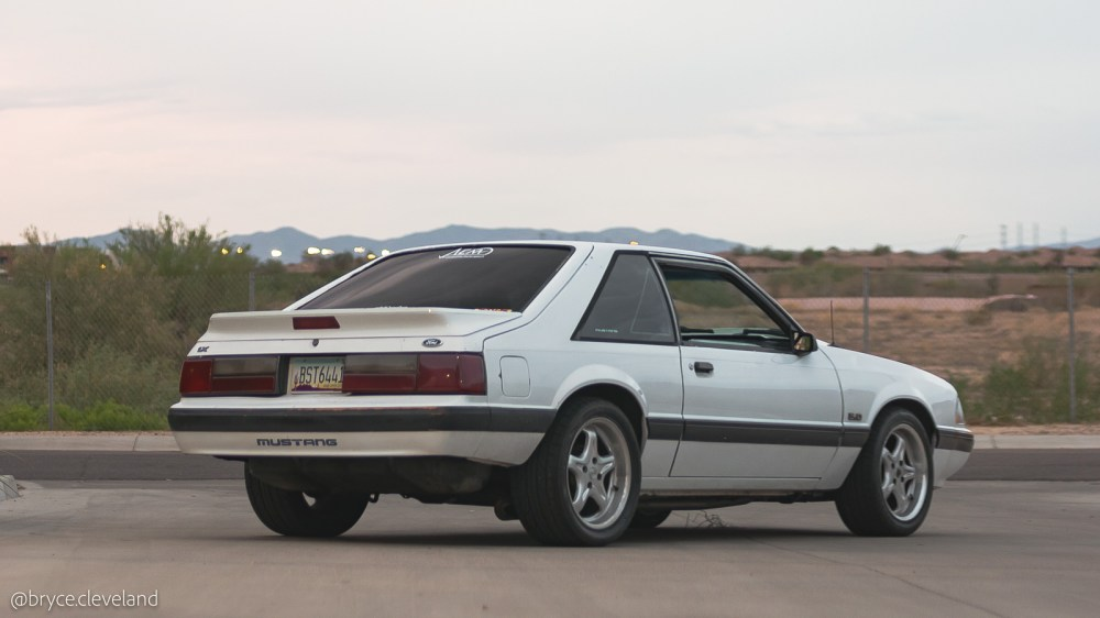medium resolution of whether you love or hate the style of the fox body you ll probably agree that it s interesting but it doesn t really resemble mustangs of the past