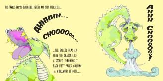 dragon sneeze