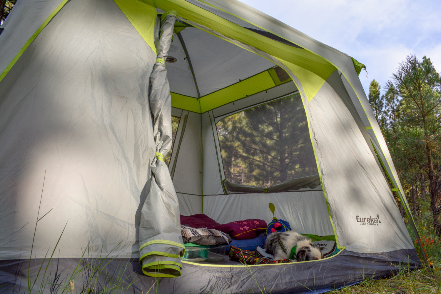 The big door was great feature we all enjoyed & Eureka Jade Canyon 6 Review - Dusty Desert Dogs