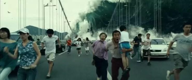 Bu orijinal Kore remake 1974 Amerikan filmi Deprem.