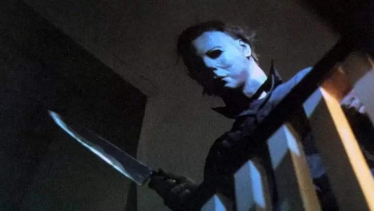 Korku kötü adam Michael Myers Cadılar Bayramı