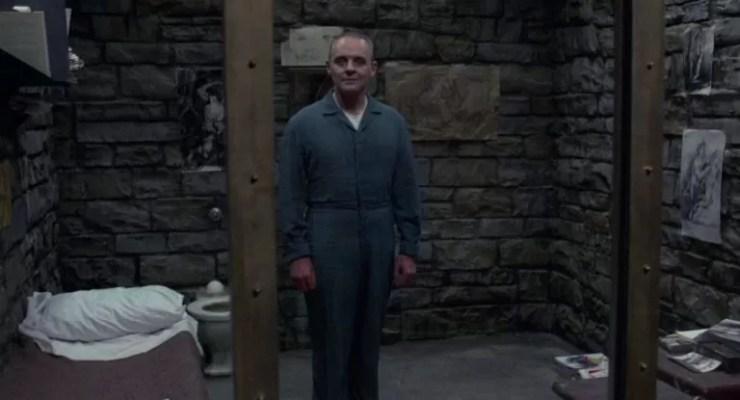 Dr Hannibal Lecter Kuzularin SessizligiAnthony Hopkins tarafindan canlandirilan .