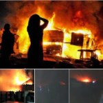 Pipeline explosion: Over 200 houses burnt at Abule Egba, Lagos