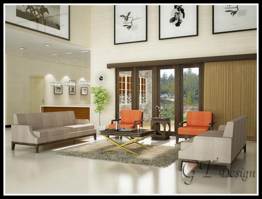 Interior Design Rumah Type 3672
