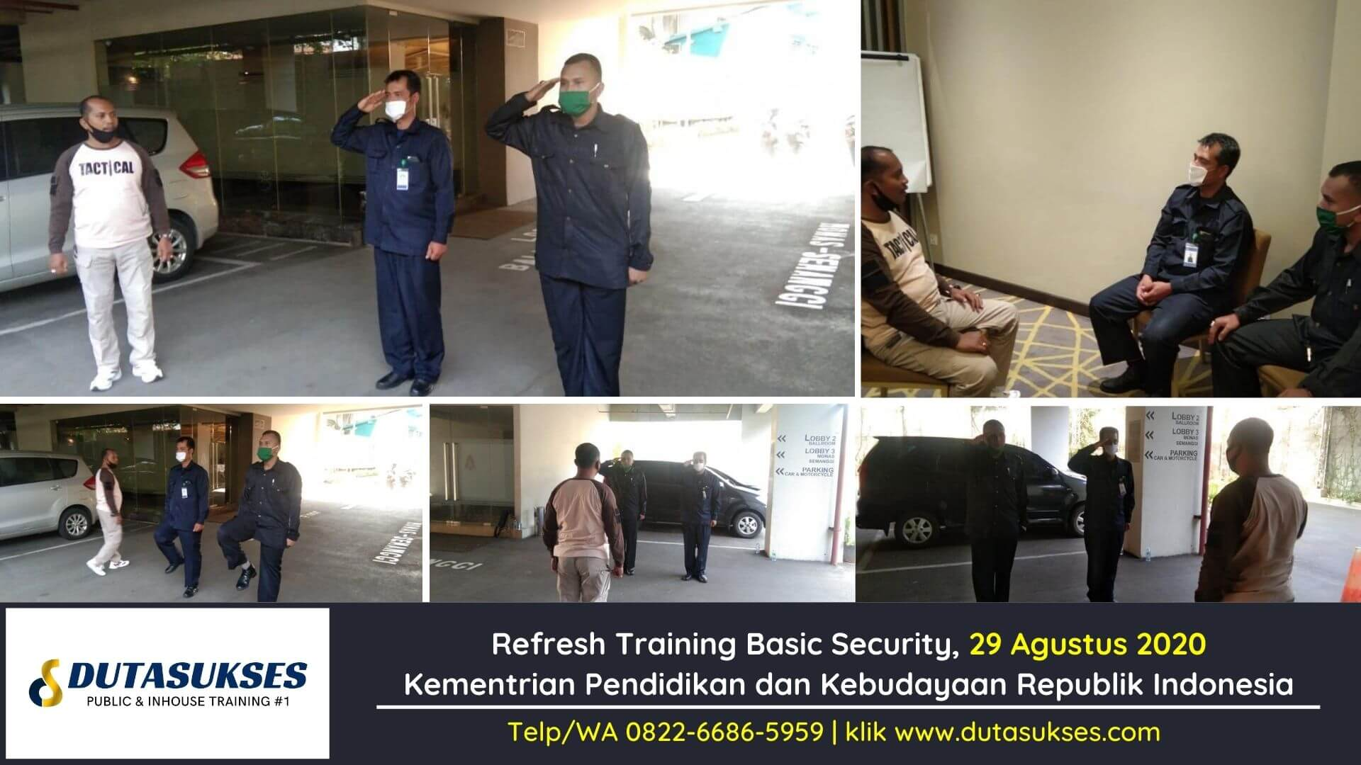 Refresh Training Basic Security, Pelatihan Satpam, Training Security Perusahaan