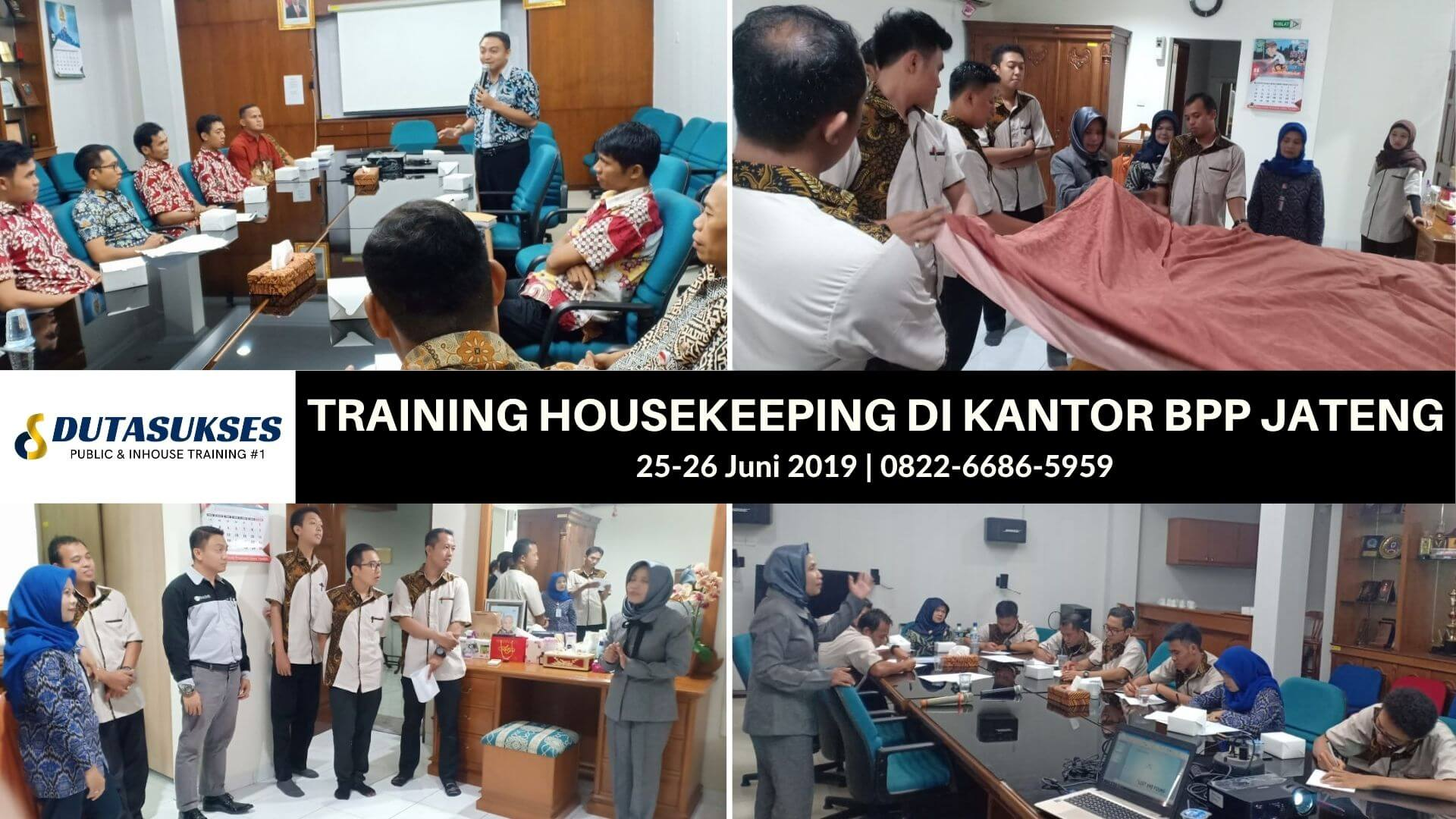 Training Housekeeping, Tata Graha, Pelatihan Houskeeping Perhotelan, Cilla, Kantor BPP