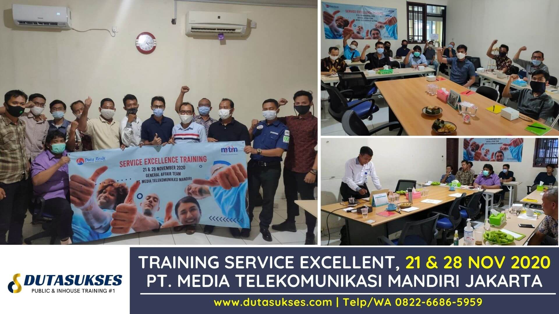 Training Service Excellent, Pelayanan Prima Staff