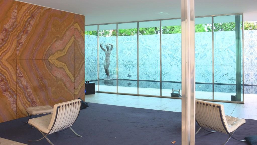 Barcelona Paviliion Mies van der Rohe