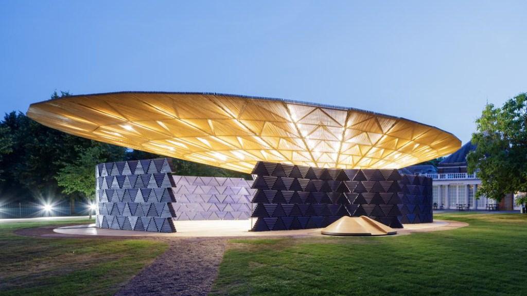 Diébédo Francis Kéré's 2017 Serpentine Pavilion