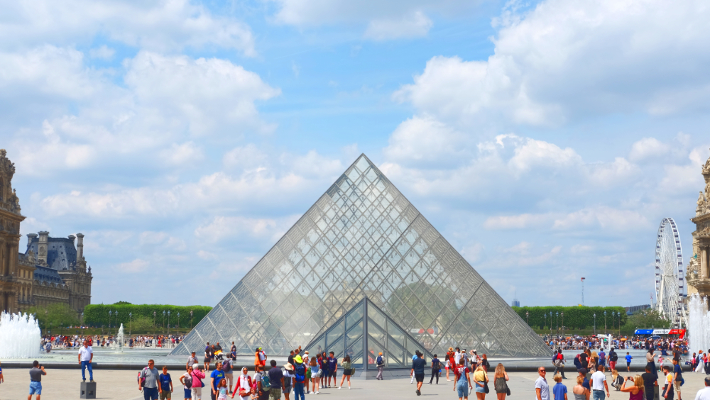 The Great Pyramid of the Louvre