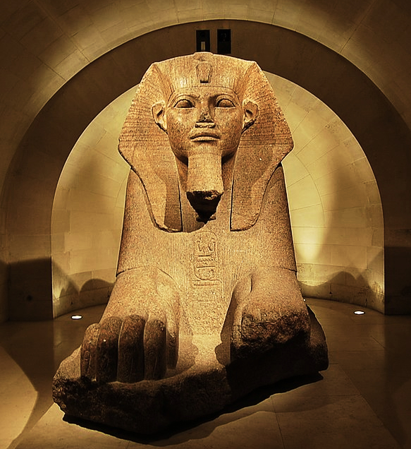 The Great Sphinx in the Louvre Museum