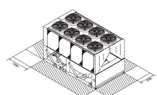 Van de bron hoog rendement Elektrische Lucht Warmtepomp
