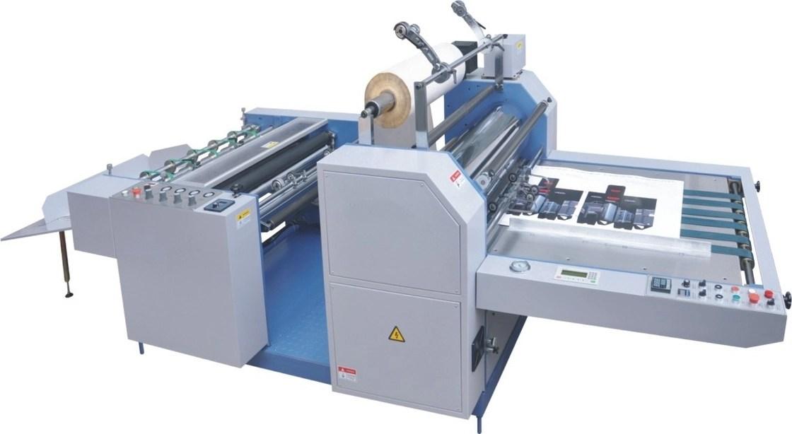 Gespleten Semi Automatische Industriële het Lamineren Machine/de Machine van de Broodjeslamineerder