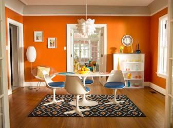 orange room 7db waves dutchboy dutch boy morning sunny making glow troublemaker 003w