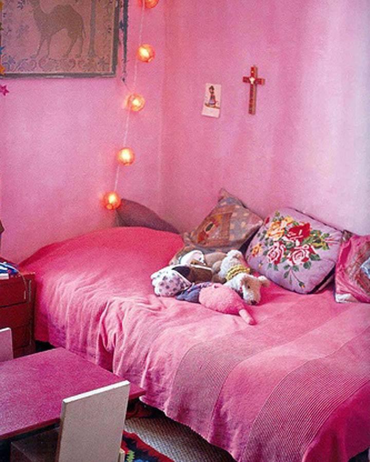 Roze Meisjeskamer Roze Hanglamp  Dutch Dilight